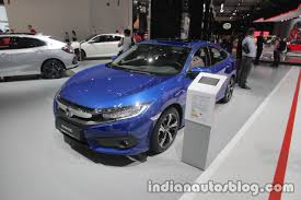 2017 honda civic sedan honda civic sedan at iaa 2017 indian autos blog