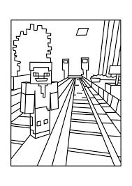 minecraft coloring pages coloringsuite com