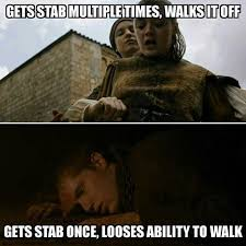 Multiple Picture Meme - game of thrones meme stab multiple times on bingememe