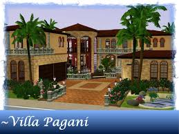 mod the sims villa pagani a mediterranean luxury home on the beach