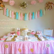 Blue Baby Shower Decorations Pink U0026 Gold U0026 Blue Baby Shower Decorations Twin Baby Shower