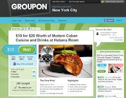 groupon cuisine groupon â local daily deals startuplift