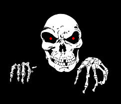 clipart skull and