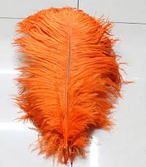 Ostrich Feather Centerpieces Wholesale by Online Buy Wholesale Orange Ostrich Feather Centerpieces From