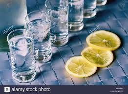 vodka tonic lemon vodka shot stock photos u0026 vodka shot stock images alamy