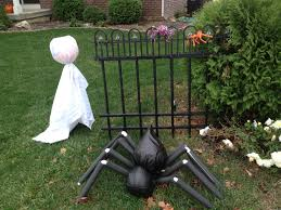 Diy Outdoor Decorations For Halloween by Halloween Ghost Yard Decorations Diy Project Divascuisine Com