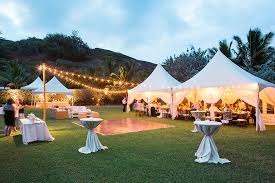 tent rental for wedding s rentals kauai a kauai tent rental and party supply company