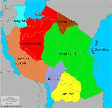 Map Of Tanzania Tanzania Religion Map
