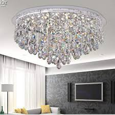 Circular Crystal Chandelier Best Crystal Lights For Living Room Modern Luxury Living Room