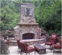 backyards ergonomic amazing outdoor fireplace designs part 1 89