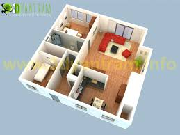 Floor Plan 3d Laferida Com Floor Plan 3d Suite