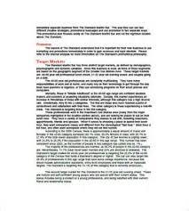 sample sports bar business plan template quality assurance