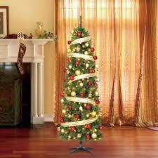 7 pre lit led wesley pine artificial tree w warm white