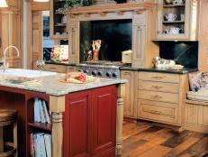Restain Kitchen Cabinets Darker How To Give Your Kitchen Cabinets A Makeover Hgtv