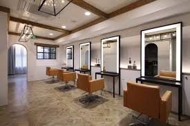 Interior Design Of Parlour Salon Minimalism Beauty Parlor Designs Boast A Subdued Approach