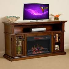 Electric Fireplace Entertainment Center Chimneyfree Wallace Infrared Electric Fireplace