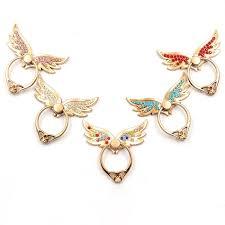 360 best shop vintage jewelry dhl universal 360 degree wings finger ring holder rhinestone
