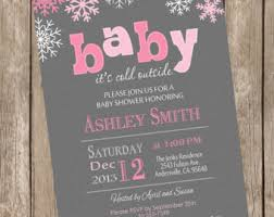 baby it s cold outside baby shower baby its cold outside baby shower invitation winter baby