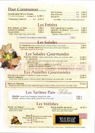 le bureau carte restaurant au bureau carte et menus