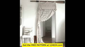 Crochet Curtain Designs Free Crochet Curtains Free Patterns Youtube