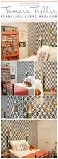 a tamara trellis stenciled guest bedroom stencil stories cutting edge stencils shares a diy stenciled bedroom using the tamara trellis pattern http