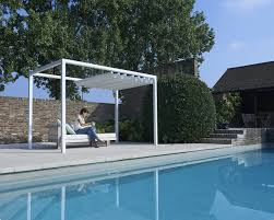 retractable roof poolside cabana shelter outdoor commercial