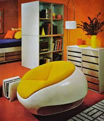orange home and decor better homes and gardens dated 1970 to 1973 70s home decor was