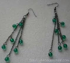 home made earrings how to make matching necklace and earrings