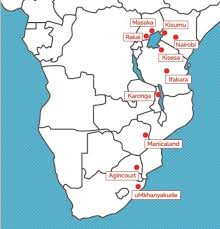 africa map study partner study institutions
