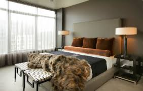urban glam bedrooms