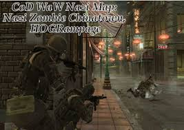 custom map world at war cod waw map chinatown created by hograge