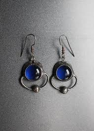 alternative earrings alternative jewelry for sci fi metal paranormal gift