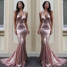 dresses for prom sparkling sequined v neck prom dresses gold mermaid