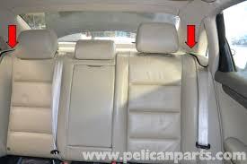 audi a4 b6 seat removal 2002 2008 pelican parts diy