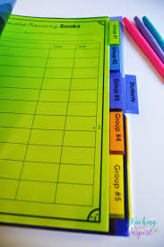 Guided Reading How To Organize Guided Reading Forms 7 Teaching To Inspire With Findley