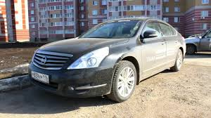 nissan teana 2009 2013 nissan teana premium start up engine and in depth tour