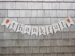 thanksgiving burlap banner ready to ship thanksgiving decor thanksgiving banner