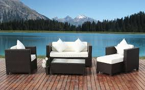 Modern Pool Furniture by Outdoor Exciting Modern Wicker Furniture For Outdoor Patio By