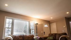 can lights in living room how to install ultra thin low profile recessed led lighting youtube