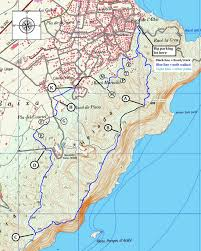 Benidorm Spain Map by Albir To La Cruz Benidorm Yorkshire Ramblings