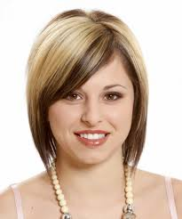 short hairstyles for round faces and thin short hairstyles