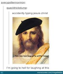 French Memes - french jesus by megadebbie meme center