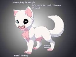 roxy mangle kitten lil mikey pirate deviantart