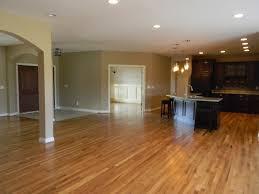 open concept floor plan in custom home built by wieland builders