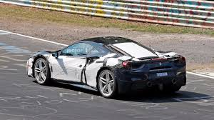 ferrari 488 speciale unknown ferrari 488 prototype spied up close