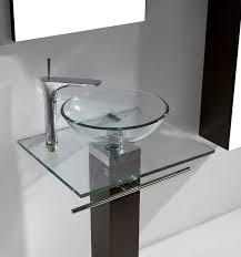 Bathroom Vanities With Glass Tops 24