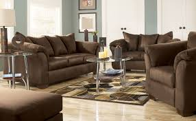 Tufted Sofa And Loveseat by Living Room Leather Dark Black With Tufted Sofa And Loveseat For
