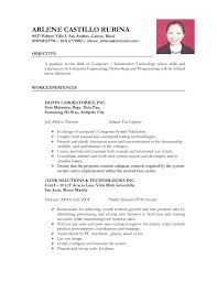 cover letter template for resume format job application curriculum