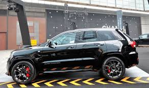 2014 jeep srt8 black chrysler launches jeep grand srt8 black edition in china