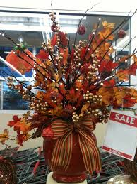 fall floral arrangement designed by a c moore severna park md